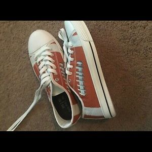 Football fan shoes!
